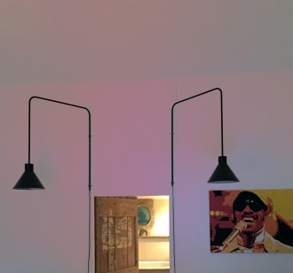 Bespoke 'Tube' wall lights